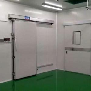Operado manualmente Sliding Doors Freezer