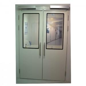 Double Open Automatic Swing Hygienic Doors